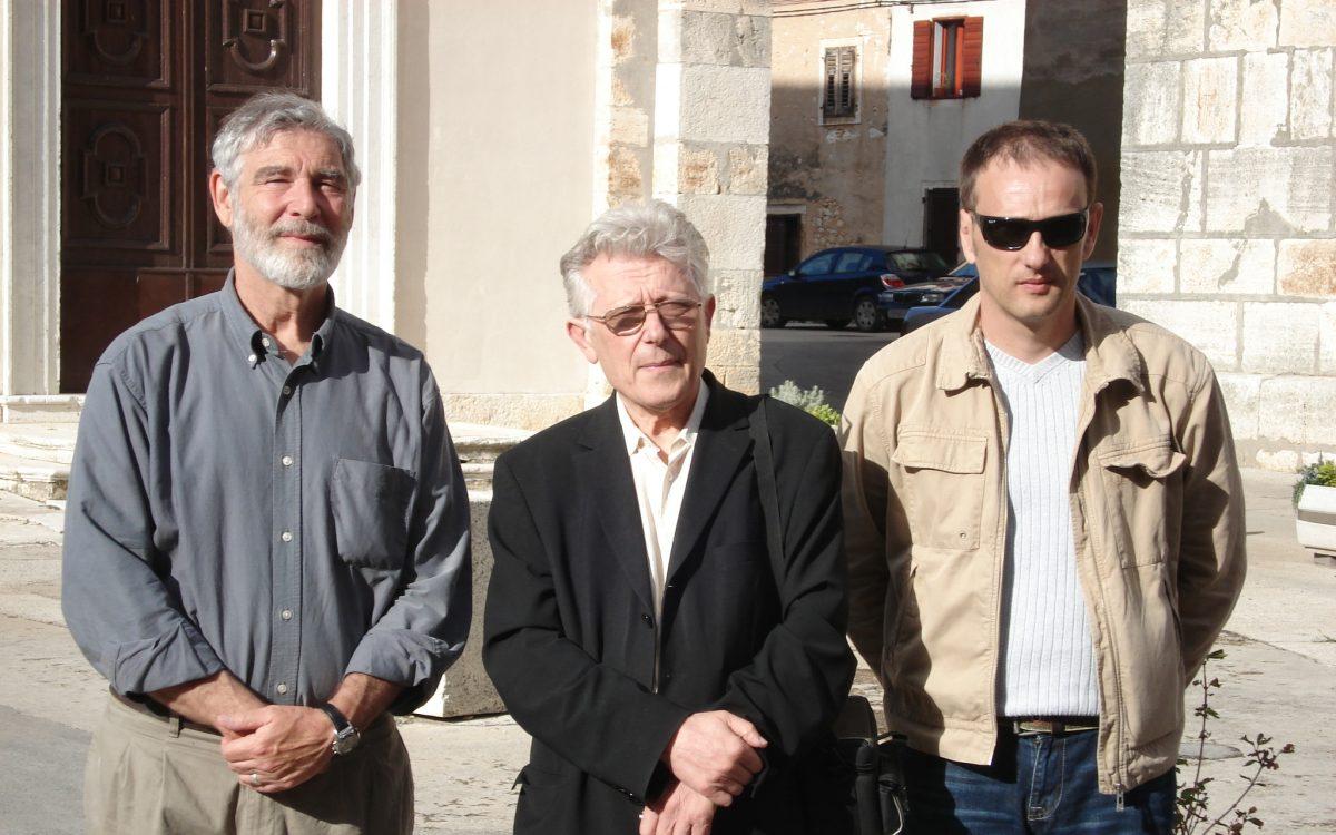 M.O'Brien, vlč. Marijan Jelenić i Anton Kliman